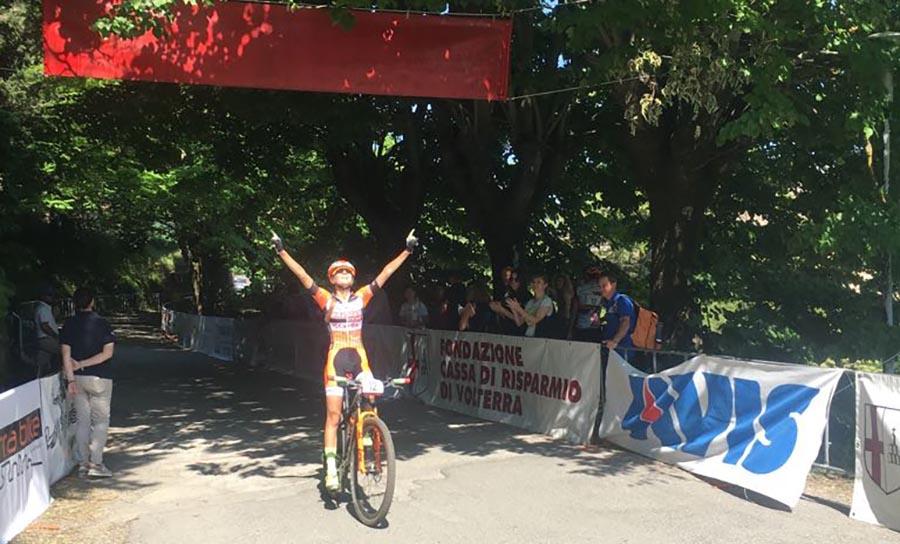 Lucia Bramati vince tra le Allieve a Volterra