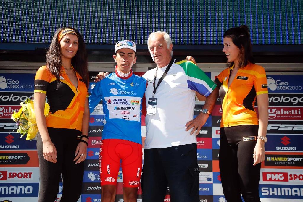Ivan Sosa resta leader dell'Adriatica Ionica Race