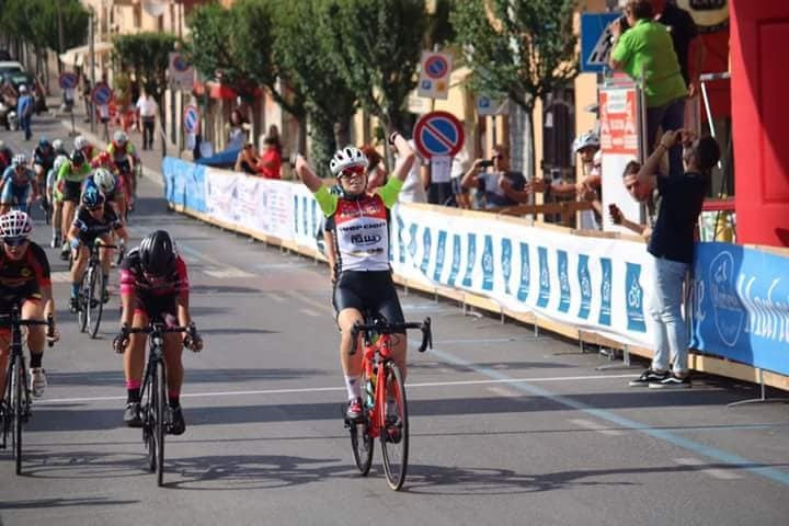 Giorgia Catarzi vince la gara Donne Junior di Formello