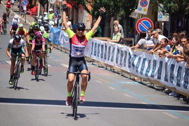 Milena Del Sarto vince la gara Donne Allieve di Formello