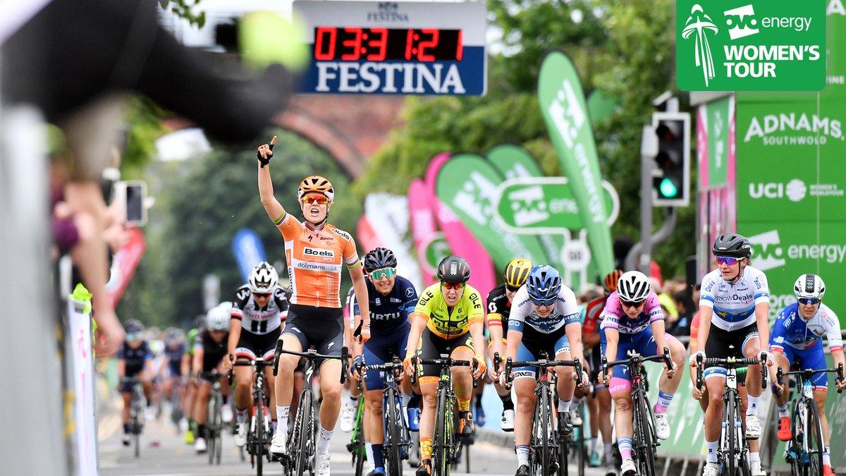 Amalie Dideriksen vince la quarta tappa del Women's Tour 2018