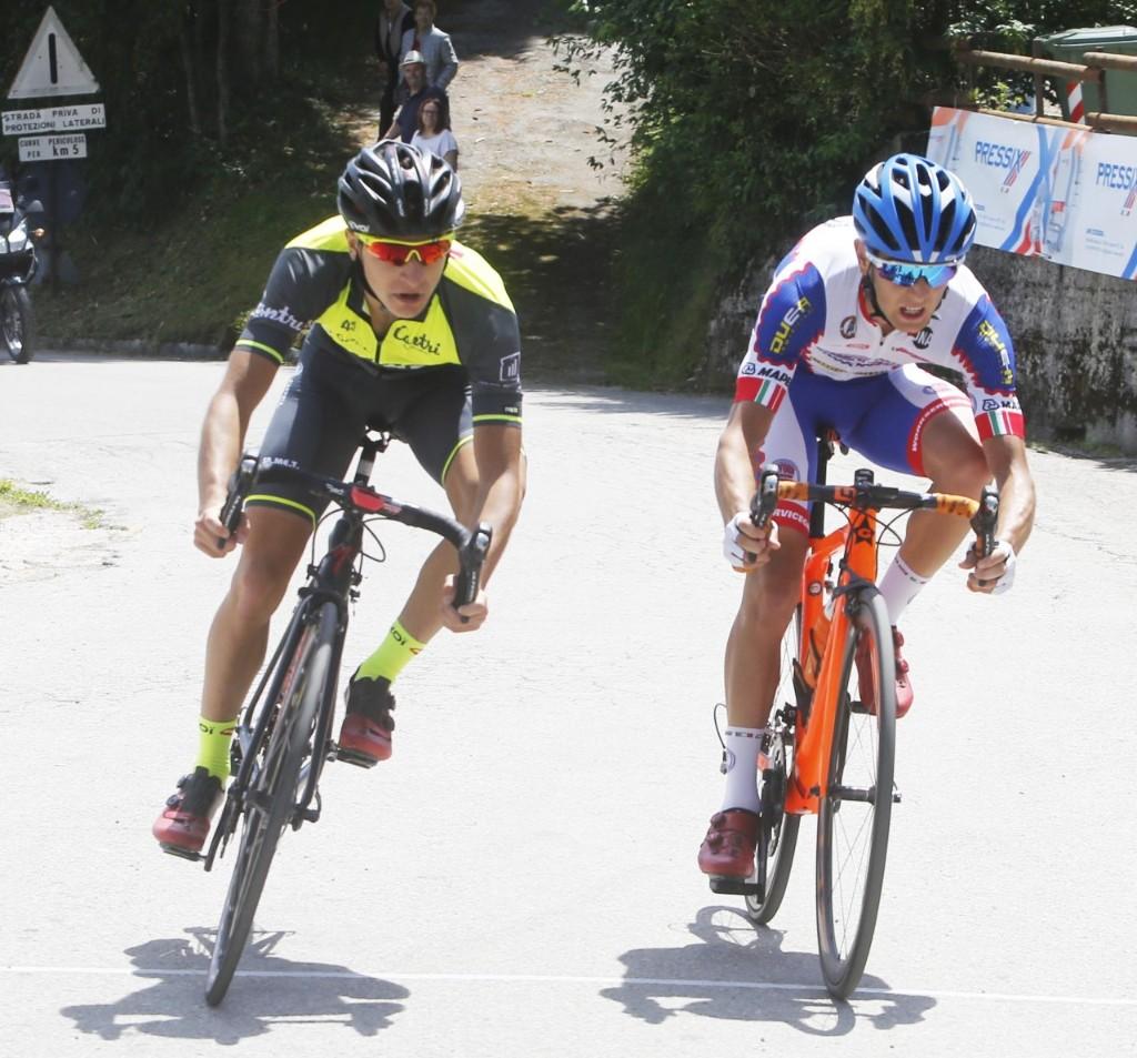 Mattia Petrucci batte Gabriele Benedetti nella Cittadella-Colli Alti 2018