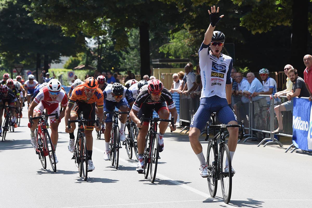 Leonardo Fedrigo vince a Gessate