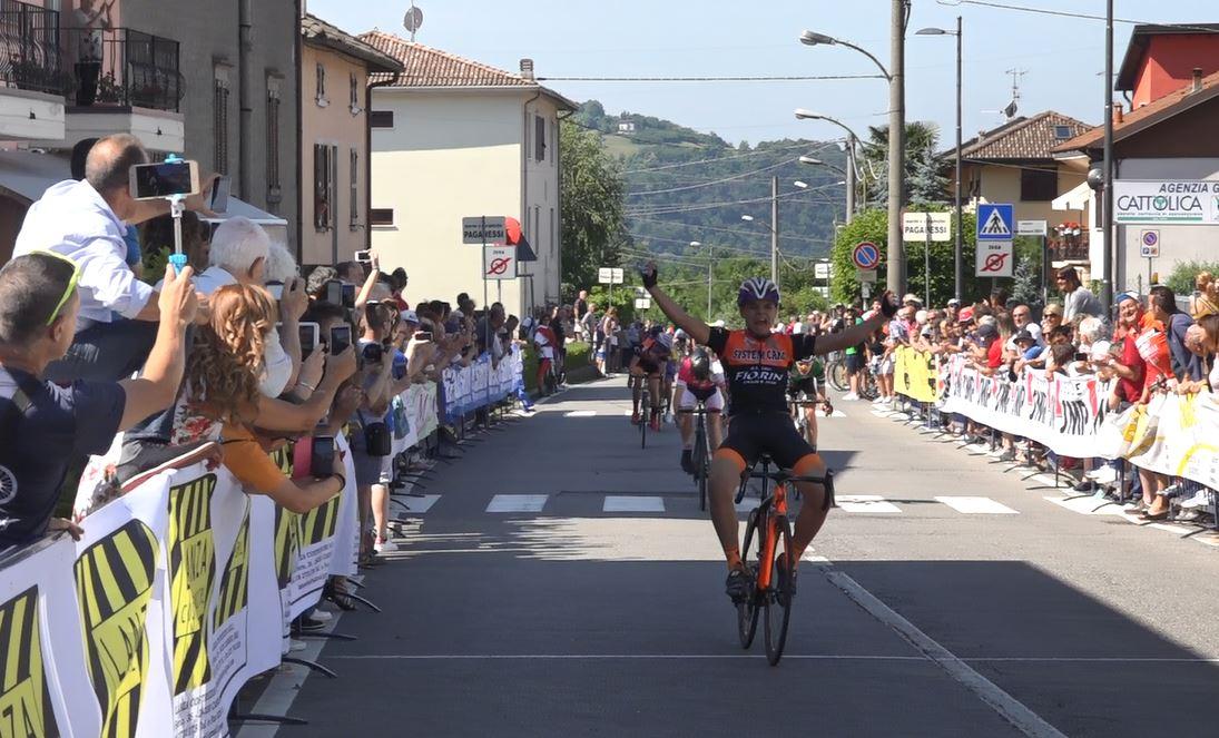 Matteo Fiorin vince il Campionato Lombardo Esordienti 1° anno a Casnigo