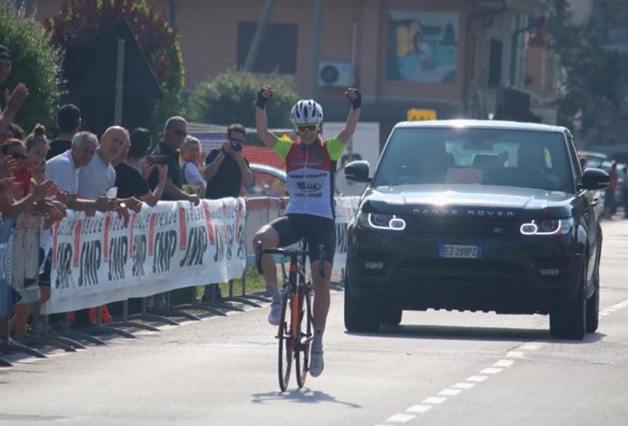 Vittoria Guazzini vince la gara Donne Junior di Scorzè