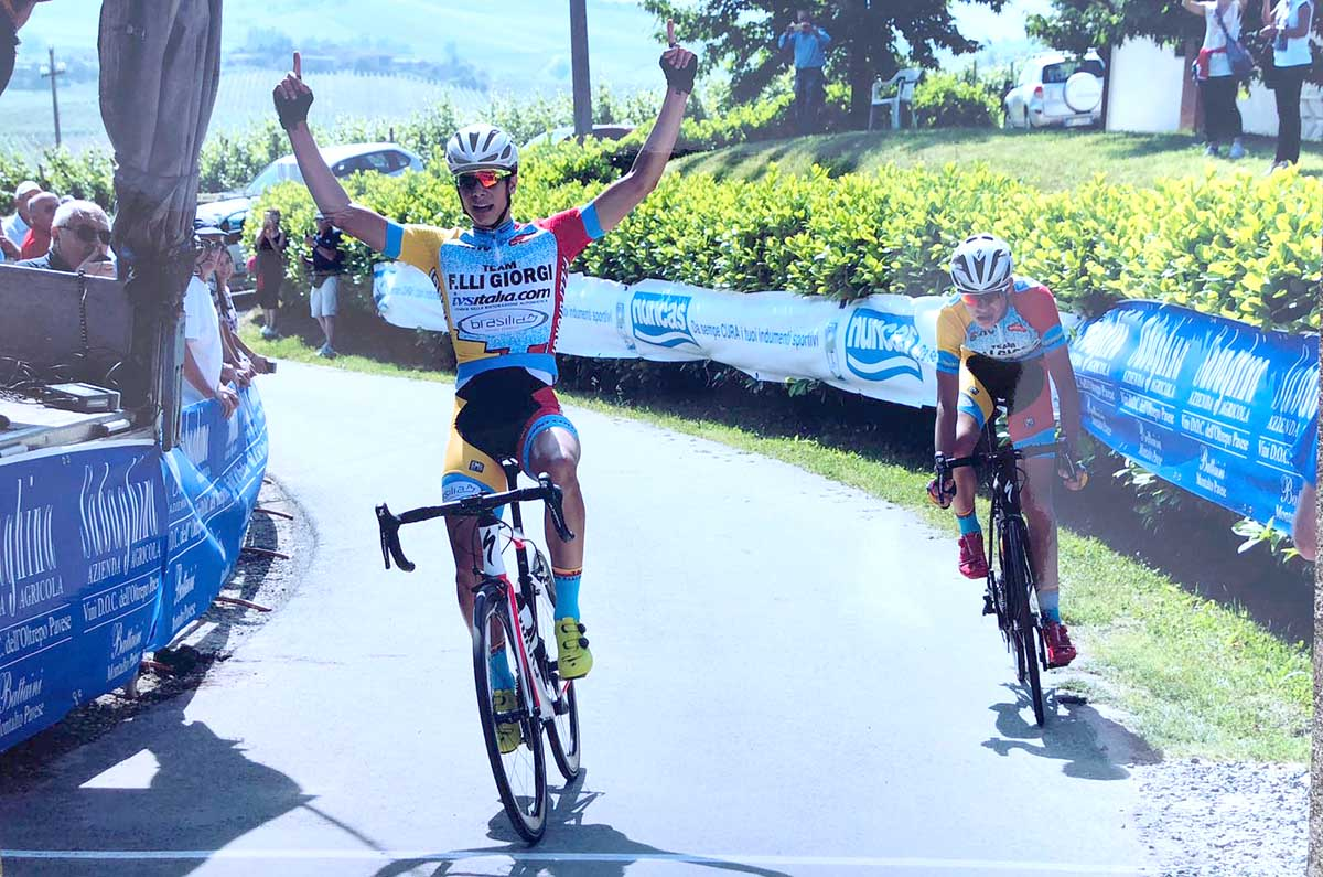 Andrea D'Amato vince la Pavia-Sabaghina