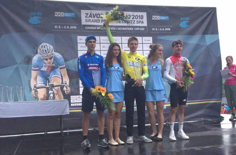 Il podio finale del Grand Prix Priessnitz spa 2018