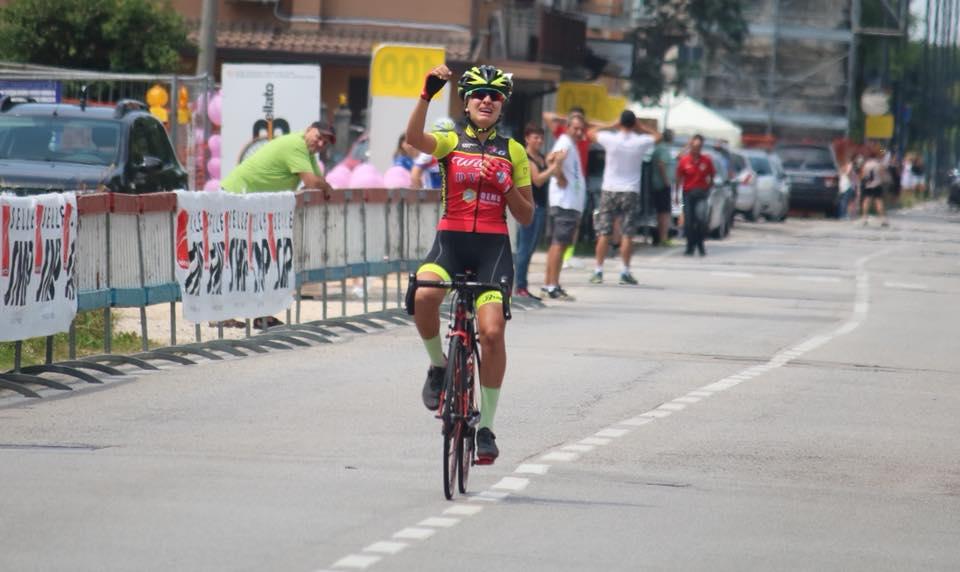 Alice Capasso vince la gara Donne Allieve di Scorzè