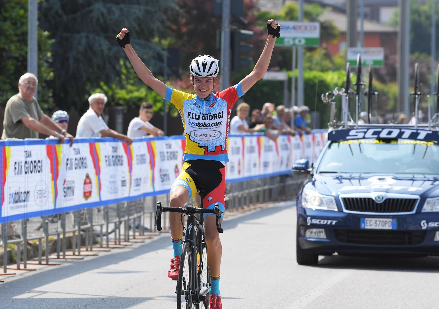 Mathias Vacek vince il Memorial Eugenio Giorgi di Albano