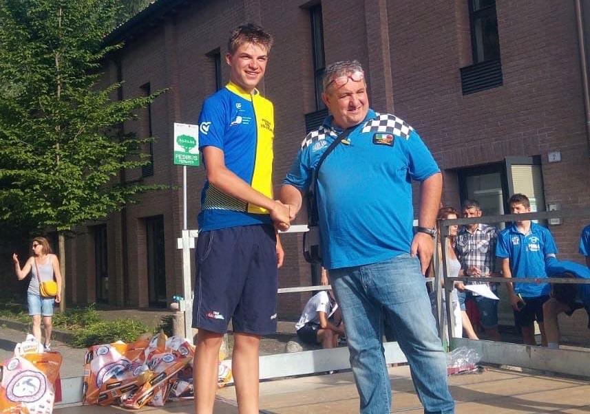 Mathias Vacek vincitore del Trofeo Cooperatori 2018