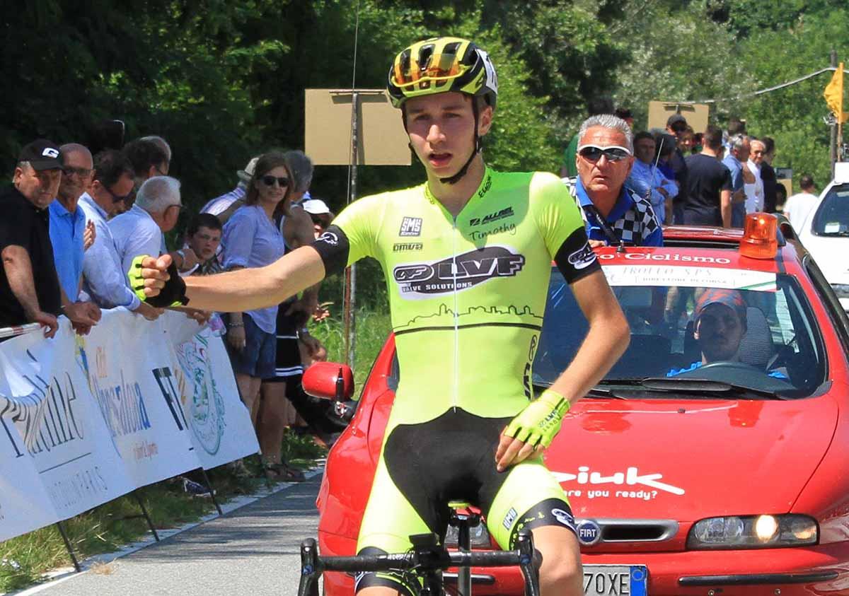 La vittoria di Sergio Meris a Bogogno