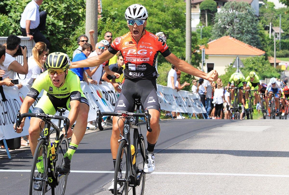 Nicolò Parisini vince a Sumirago