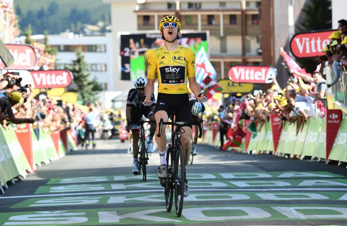 Geraint Thomas vince la dodicesima tappa del Tour de France