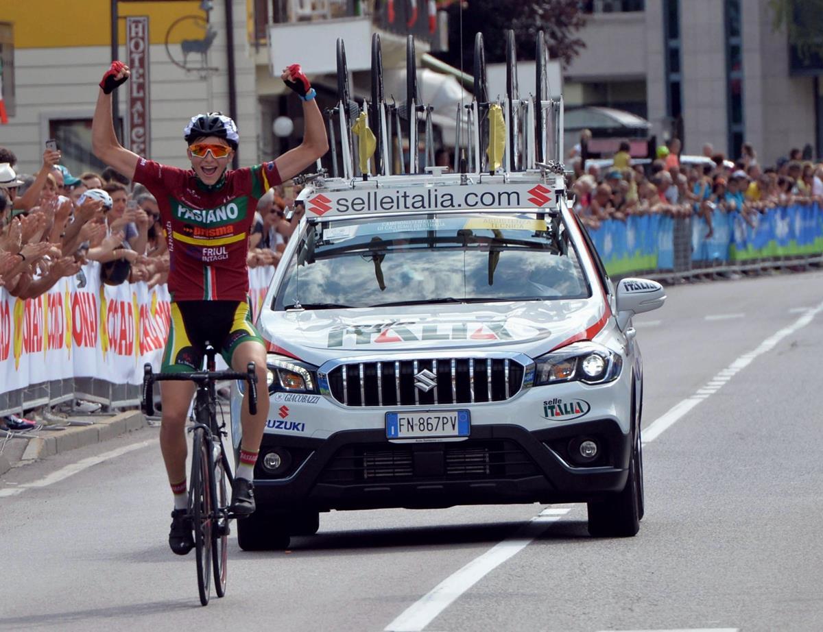 Eric Paties Montagner vince il Campionato Italiano Allievi a Comano Terme