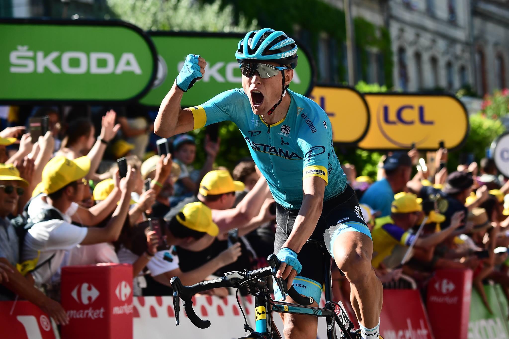 Magnus Cort Nielsen vince a Carcassonne la quindicesima tappa del Tour de France 2018