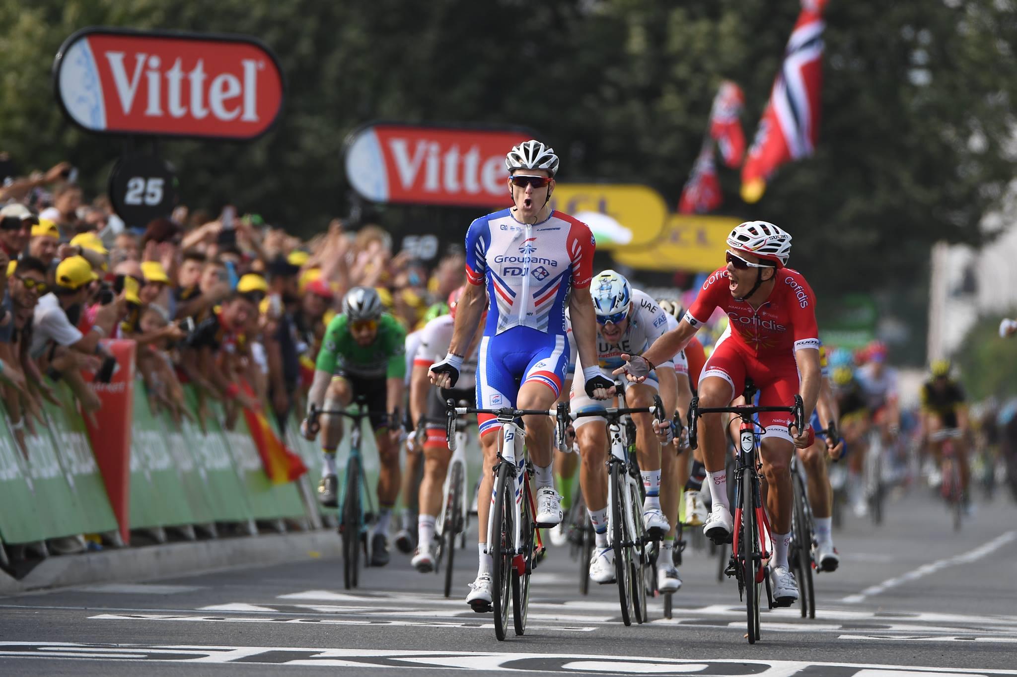 Arnaud Demare vince la diciottesima tappa del Tour de France 2018