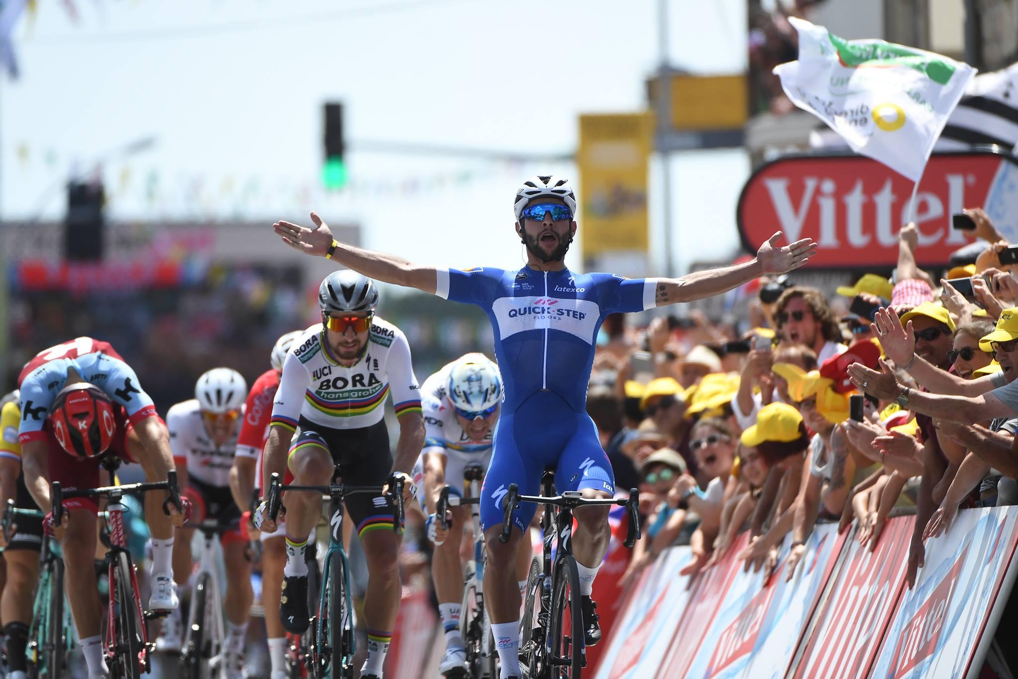 Fernando Gaviria vince la prima tappa del Tour de France 2018