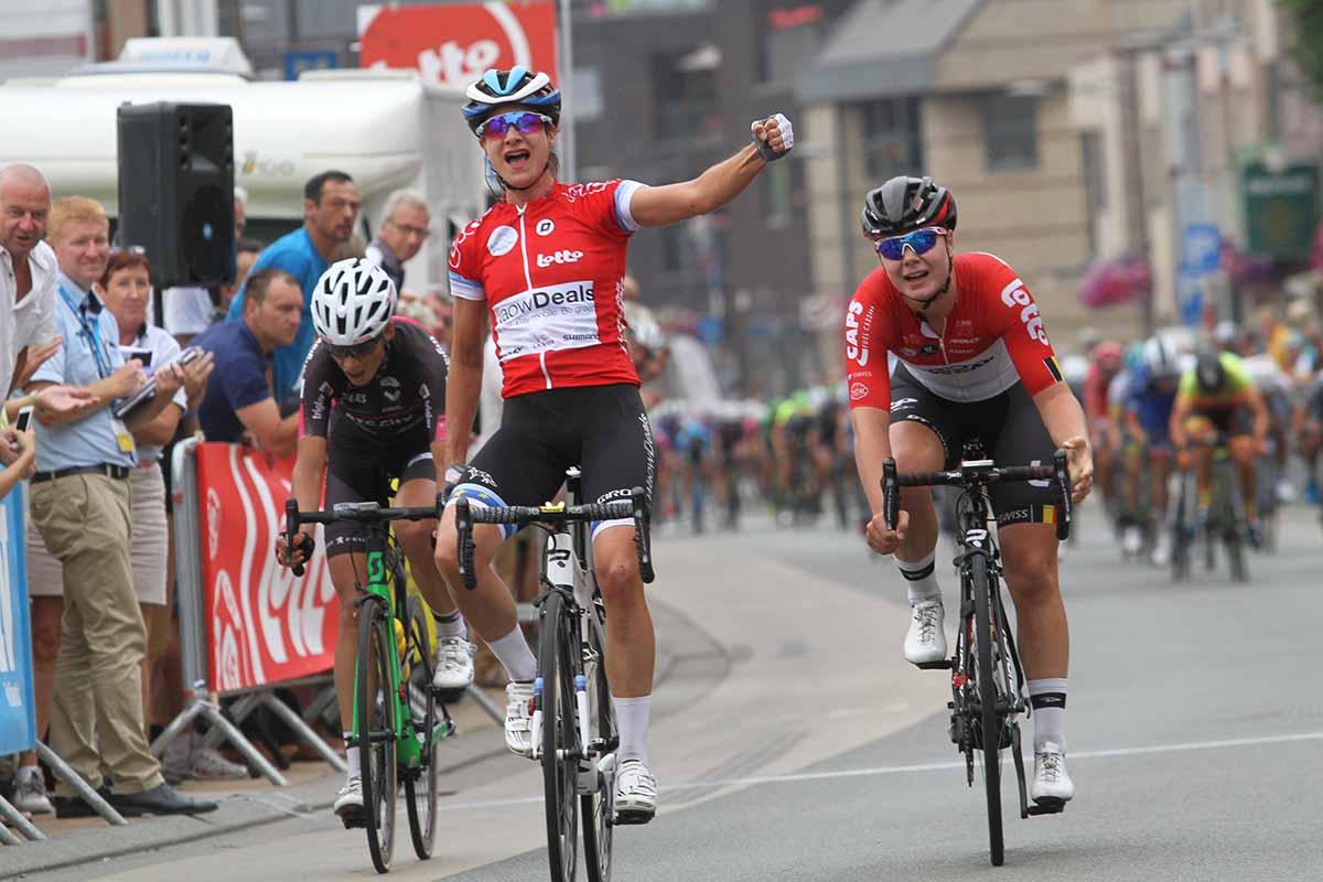 Marianne Vos vince la prima tappa del BeNe Ladies Tour 2018