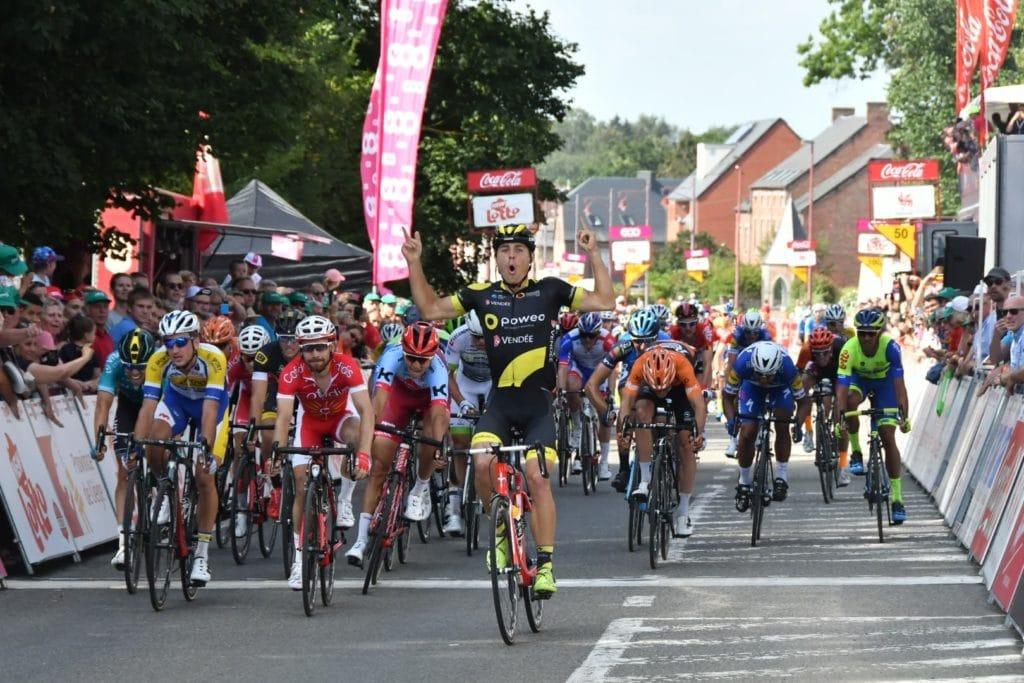 Romain Cardis vince la prima tappa del Tour de Wallonie 2018