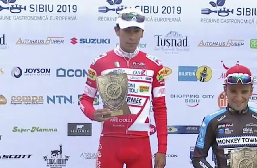 Ivan Sosa vince la prima tappa del Sibiu Cycling Tour