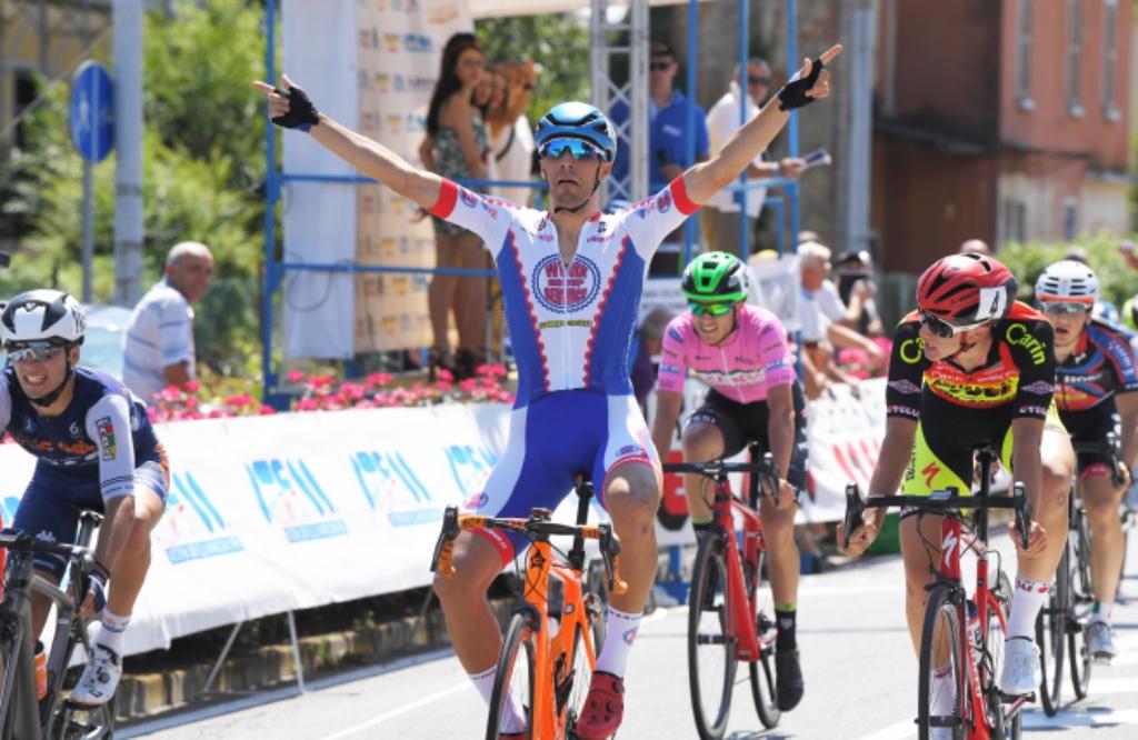 Davide Boscaro vince la seconda tappa della 3 Giorni Bresciana