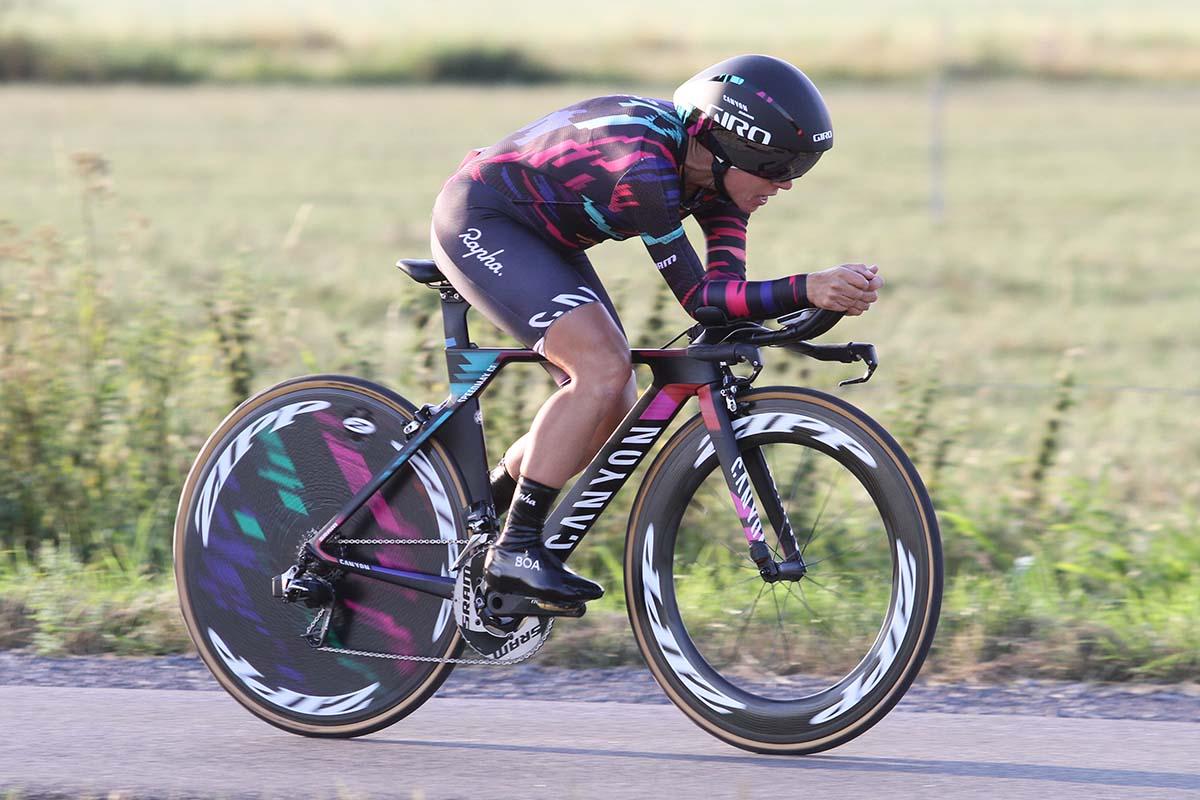 Trixi Worrack vince la seconda semitappa a cronometro della seconda tappa del BeNe Ladies Tour 2018