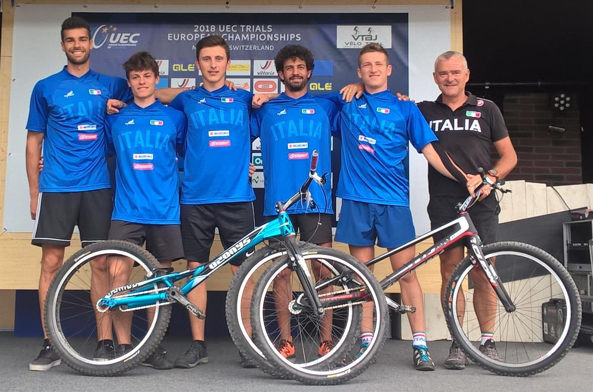 La Nazionale italiana Trials