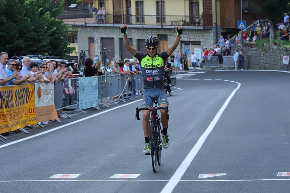Nicola Graziato vince la Modena - Sestola 2018