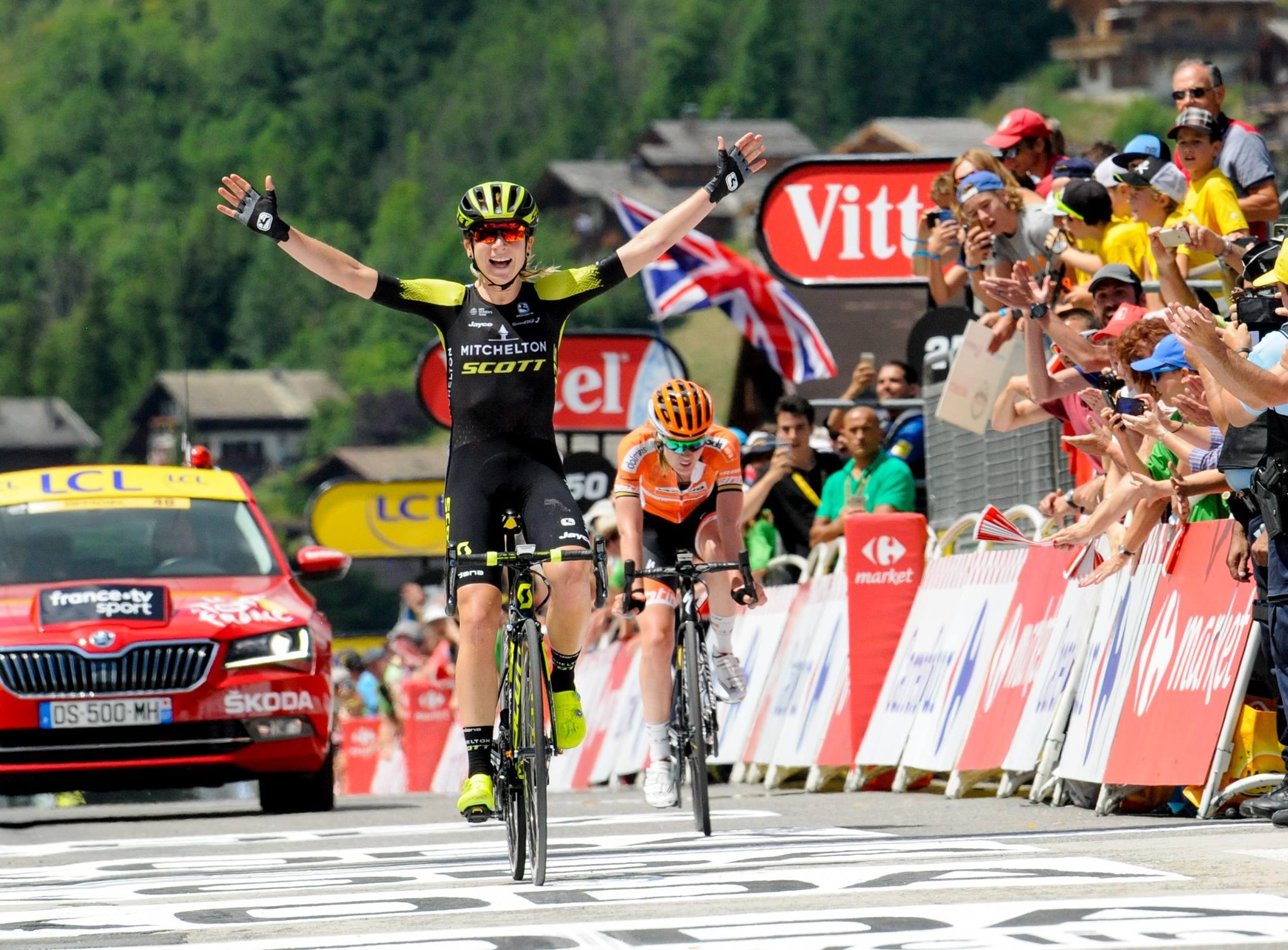 Annemiek Van Vleuten vince la Course by le Tour de France