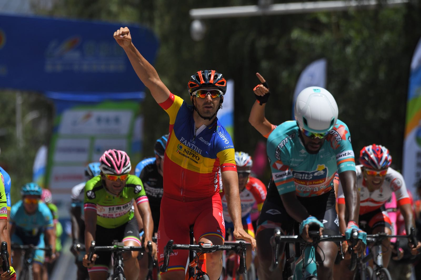 Eduard Grosu vince la terza tappa del Tour of Qinghai Lake