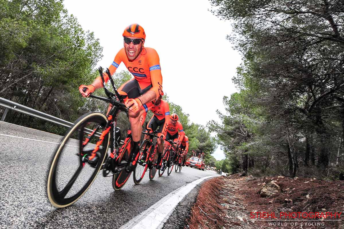 CCC Sprandi Polkowice vince la cronosquadre del Sibiu Tour