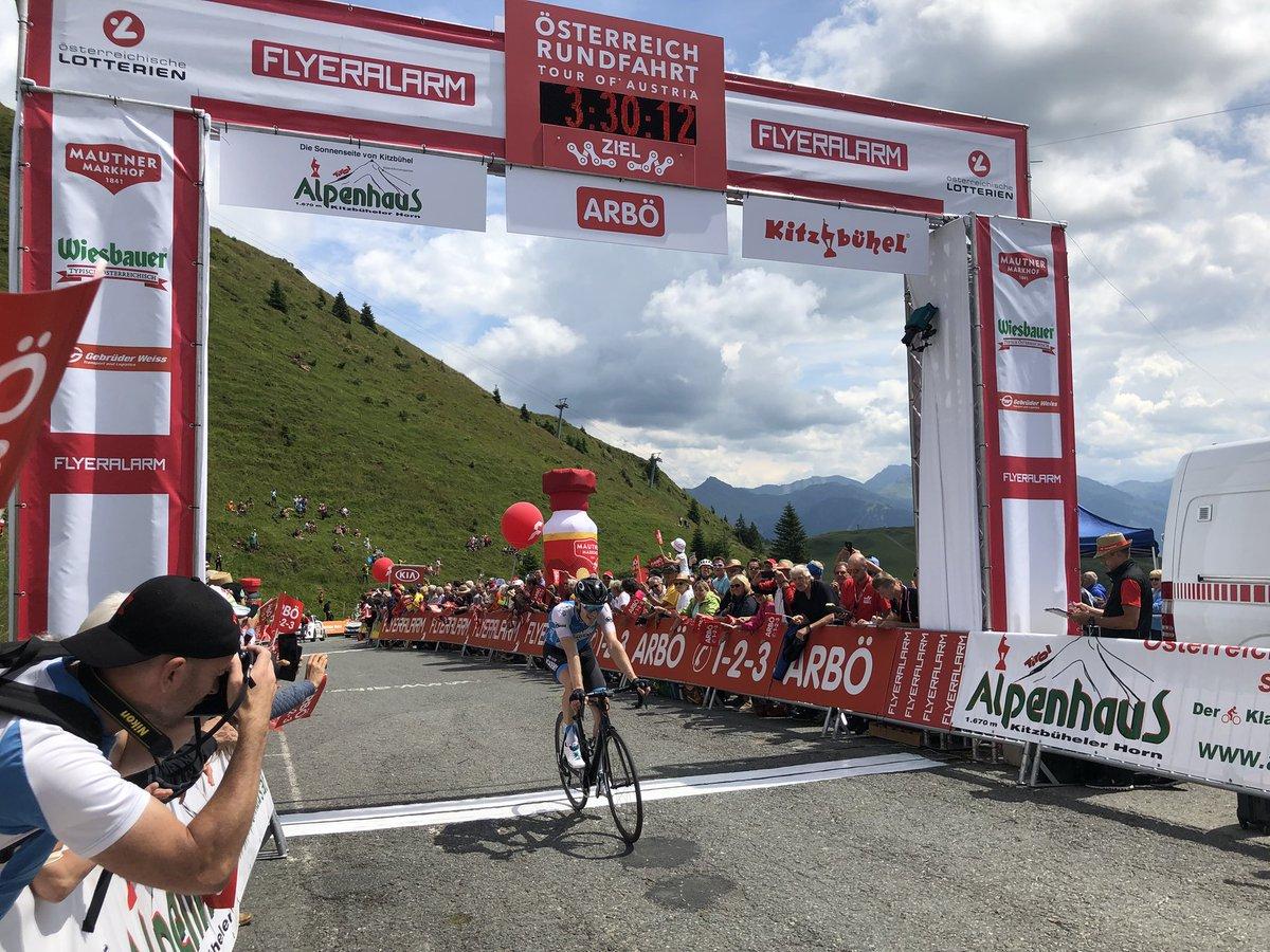 Ben Hermans vince la terza tappa del Tour of Austria