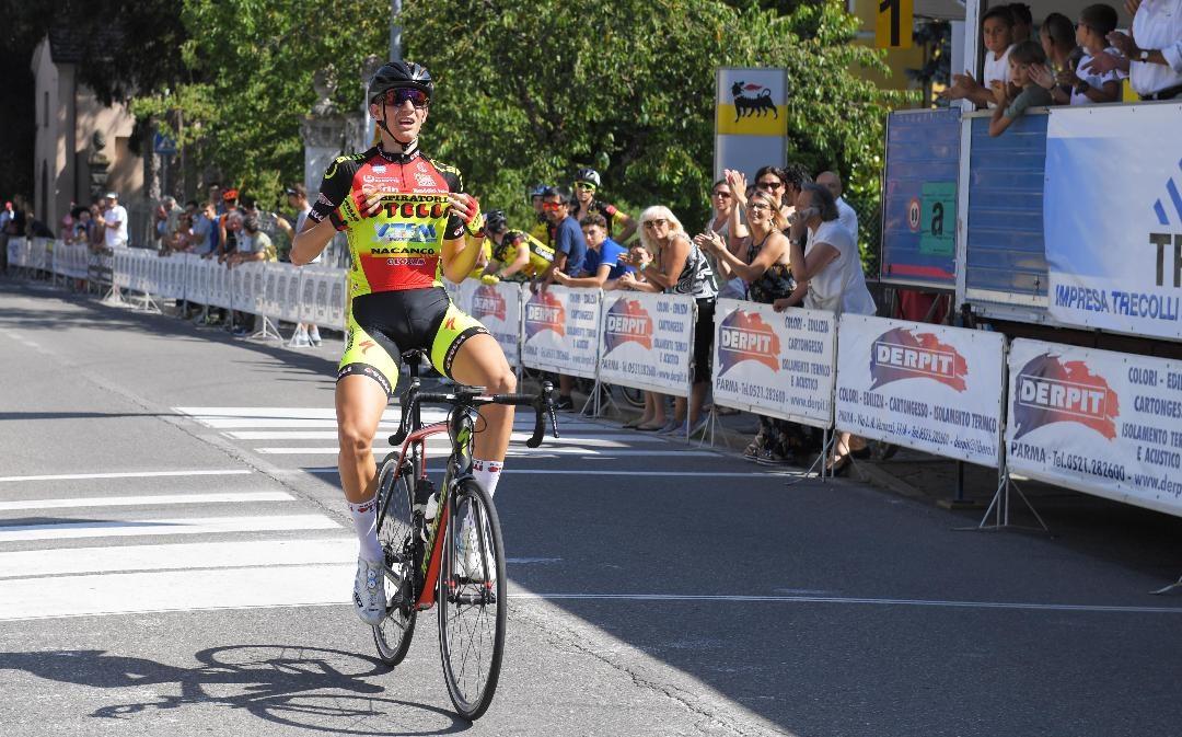 Francesco Calì vince a Bedonia