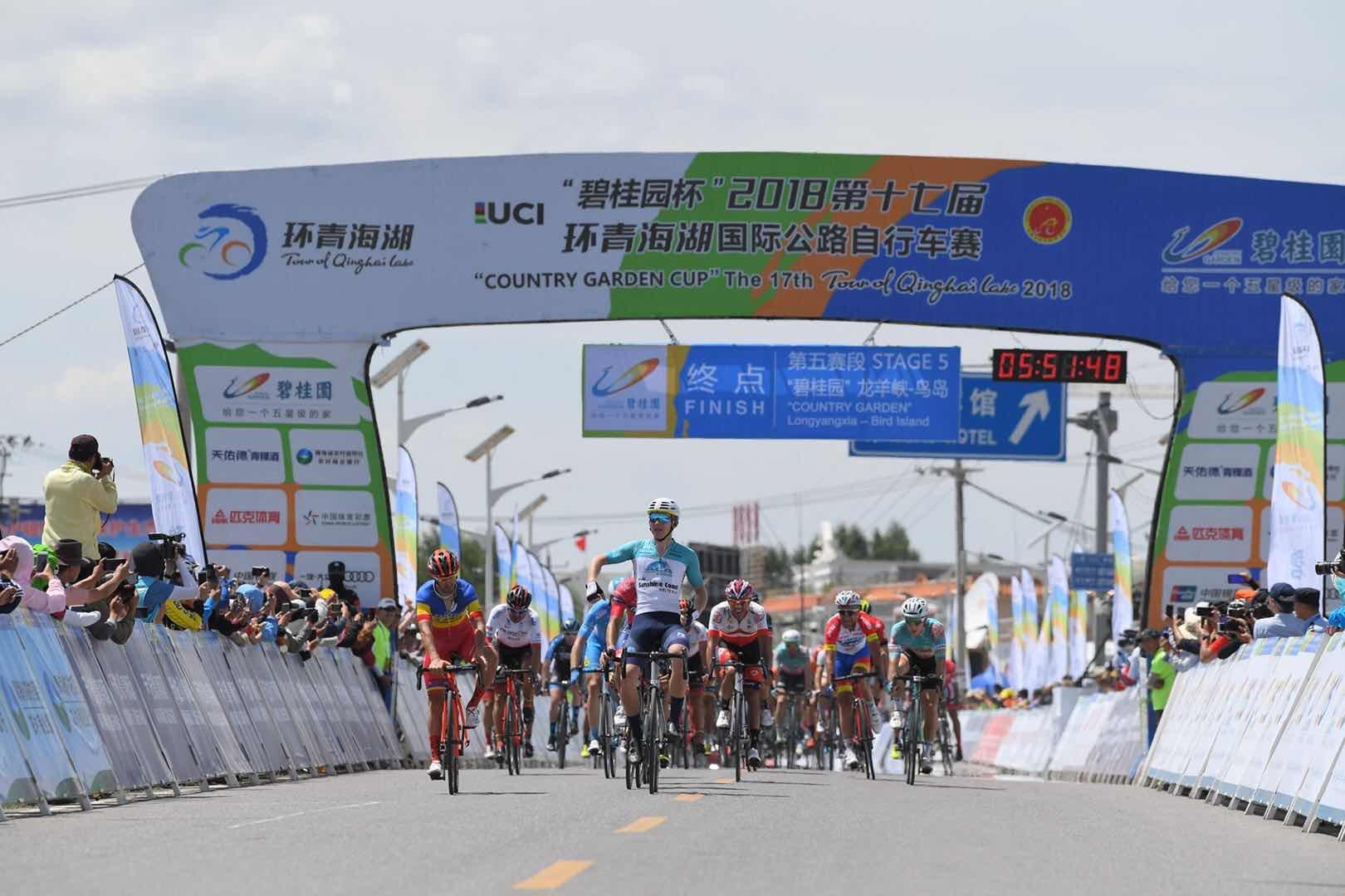 Cameron Scott vince la quinta tappa del Tour of Qinghai Lake