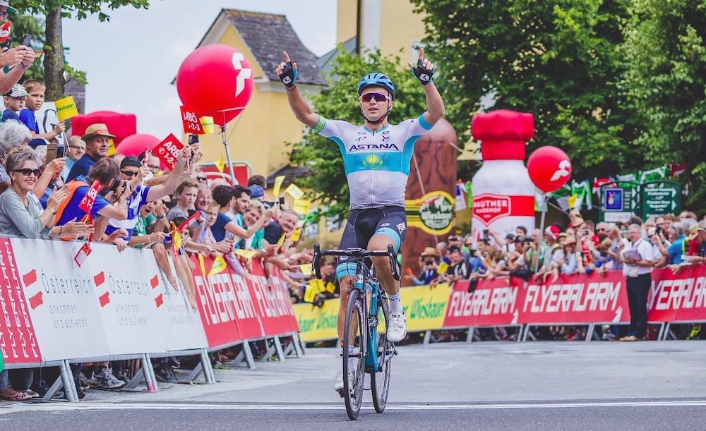 Alexey Lutsenko vince la sesta tappa del Tour of Austria