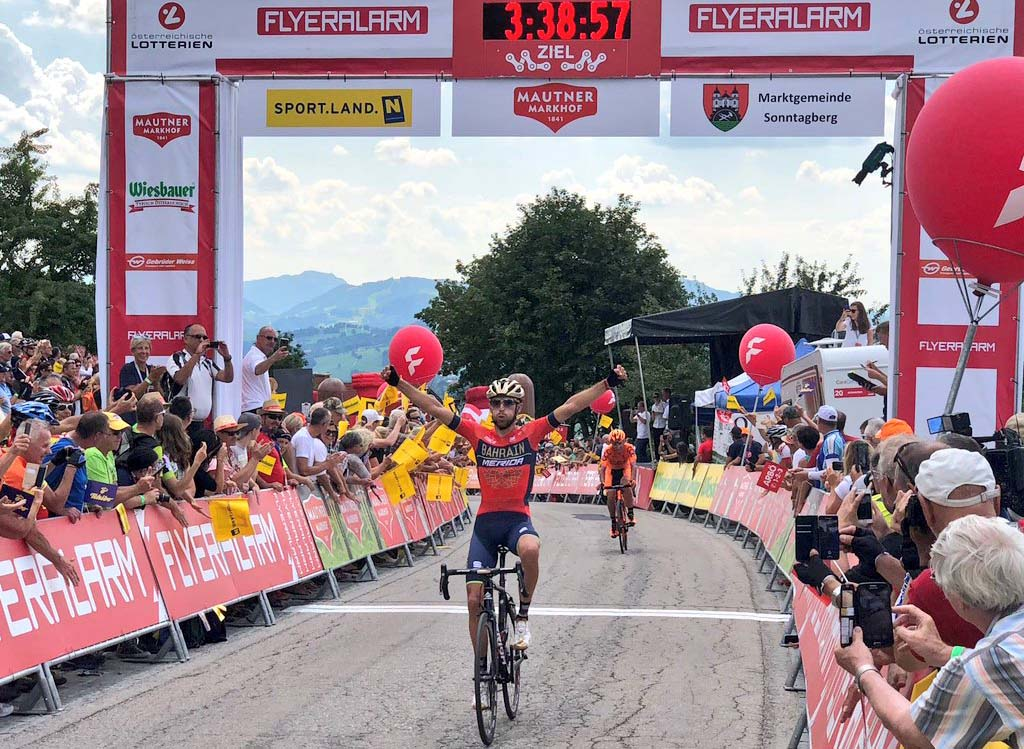 Antonio Nibali vince la settima tappa del Tour of Austria