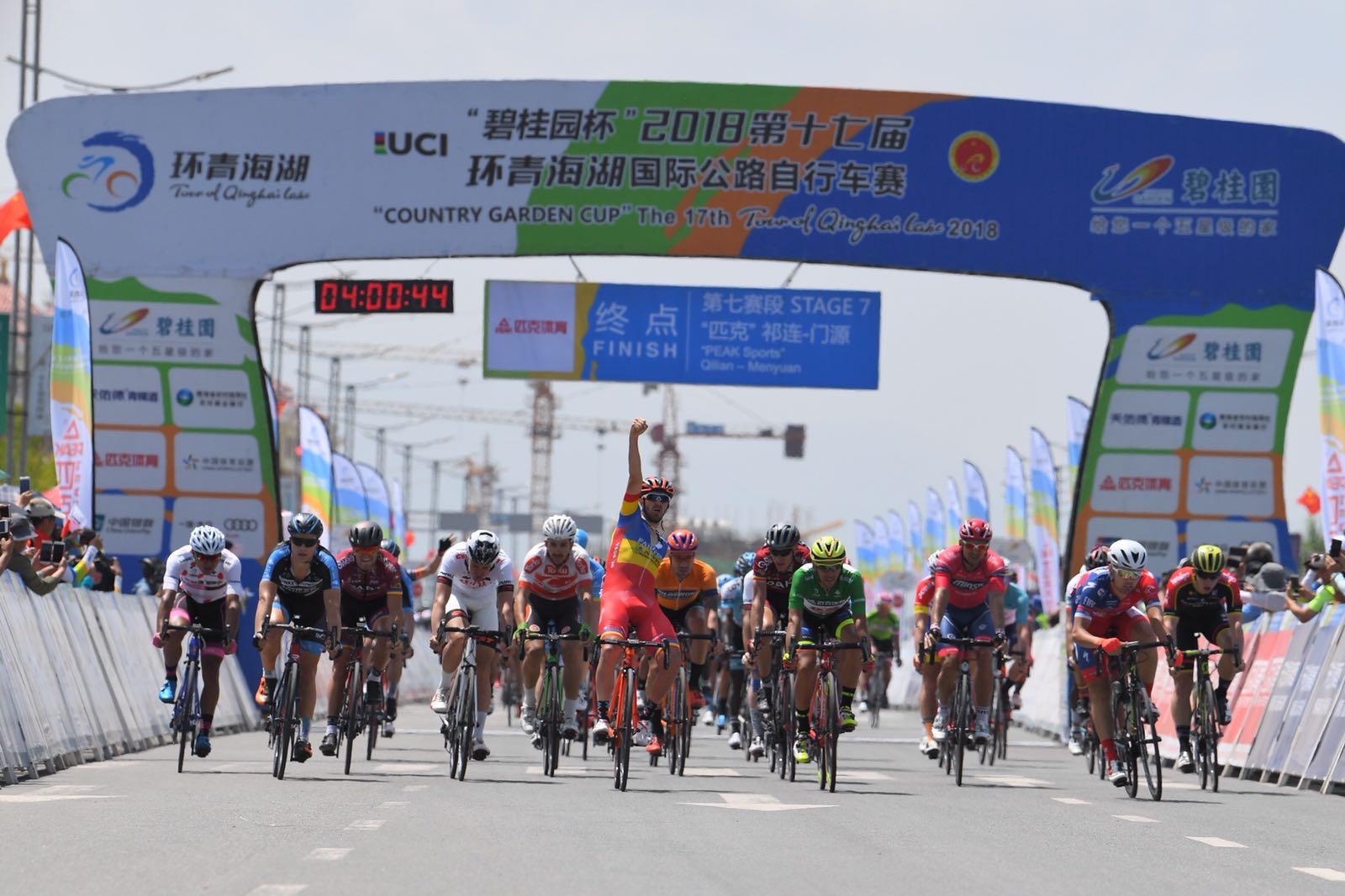Eduard Grosu vince la settima tappa del Tour of Qinghai Lake