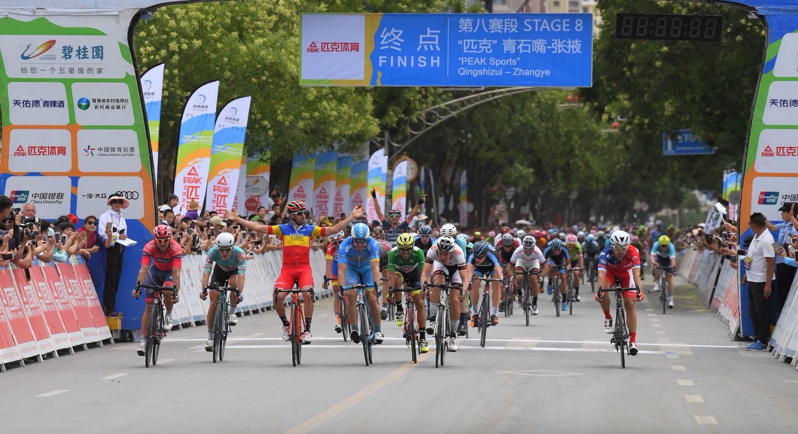 Eduard Grosu vince l'ottava tappa del Tour of Qinghai Lake