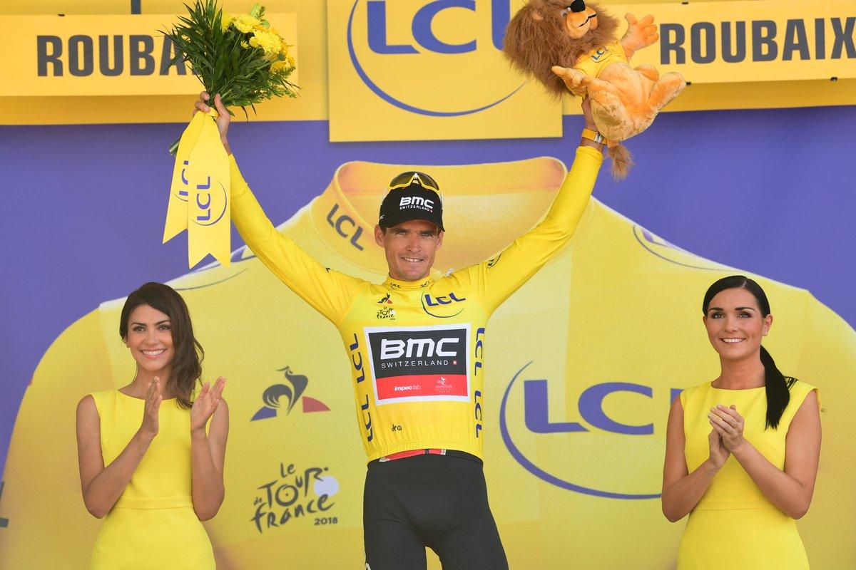 Greg Van Avermaet conserva la maglia gialla nella nona tappa del Tour de France 2018