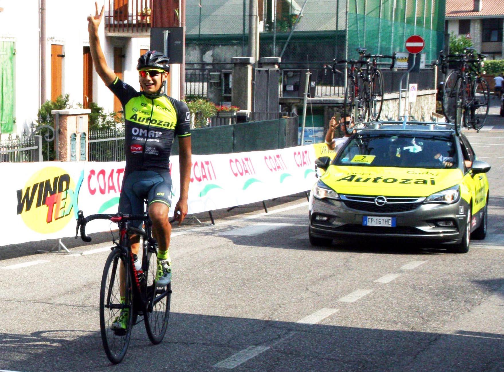 Nicola Graziato vince a Valgatara