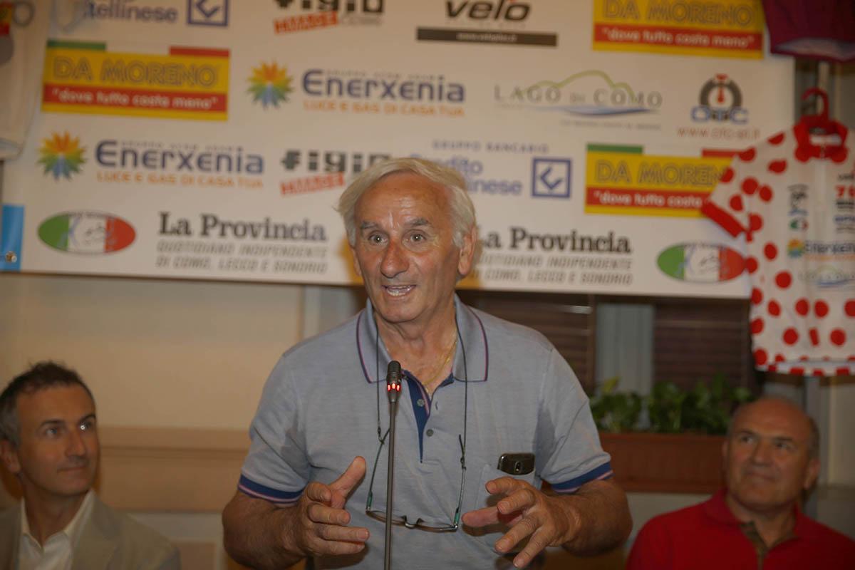 Franco Bettoni, presidente FCI Como e organizzatore del Giro della Provincia di Como