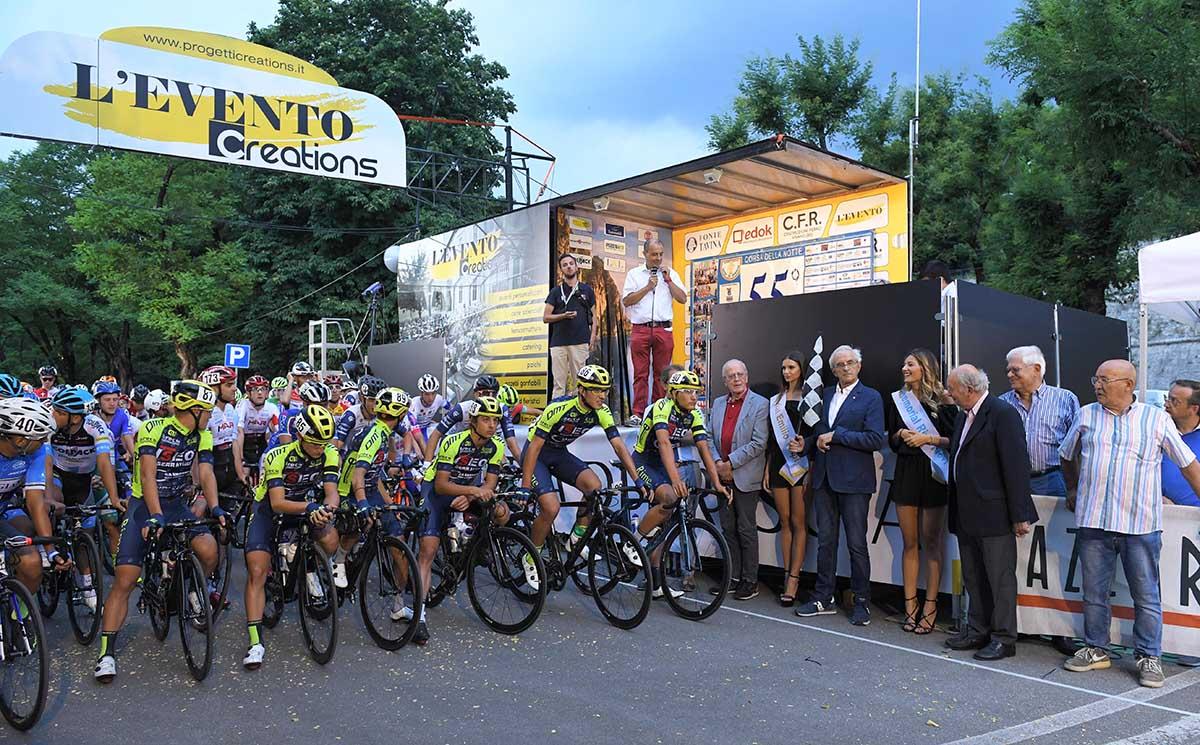 La partenza del 55° Trofeo Città di Brescia