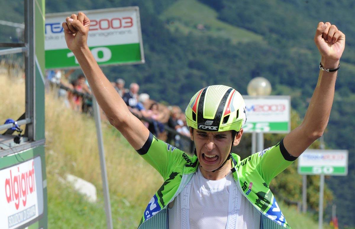 Antonio Tiberi vince ai Colli di San Fermo la terza tappa della 3GIORNIOROBICA 2018