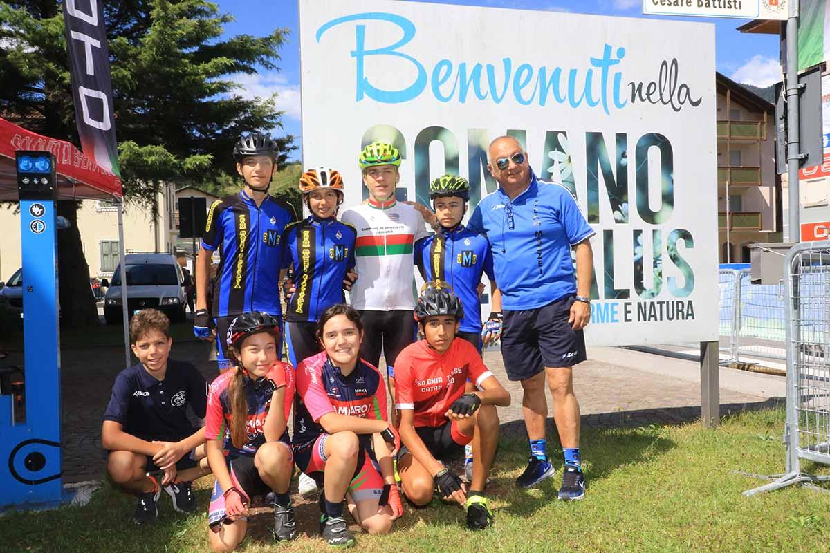 La Selezione della Calabria a Terme di Comano 2018