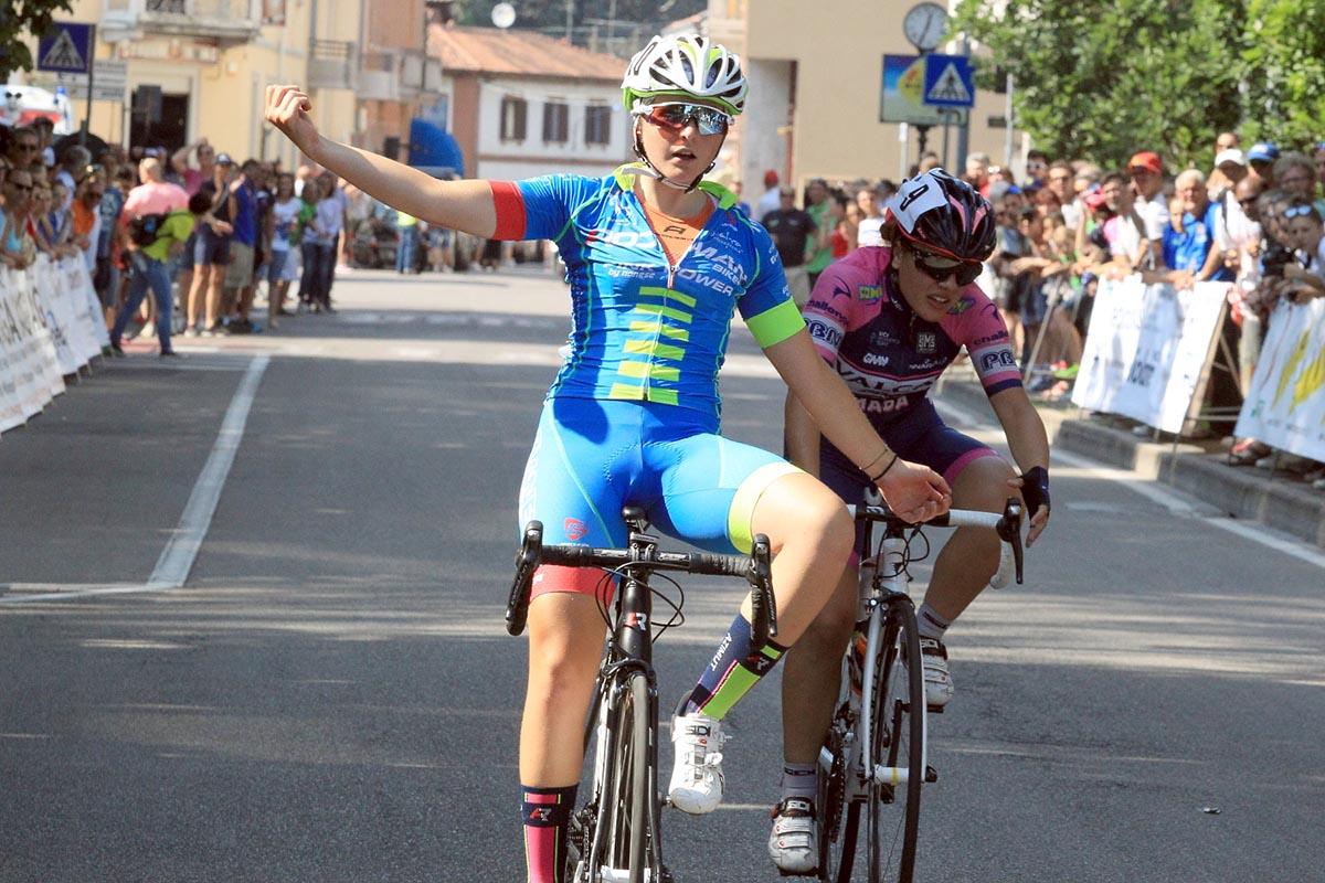 Camilla Barbero vince a Gorla Minore la gara Donne Allieve