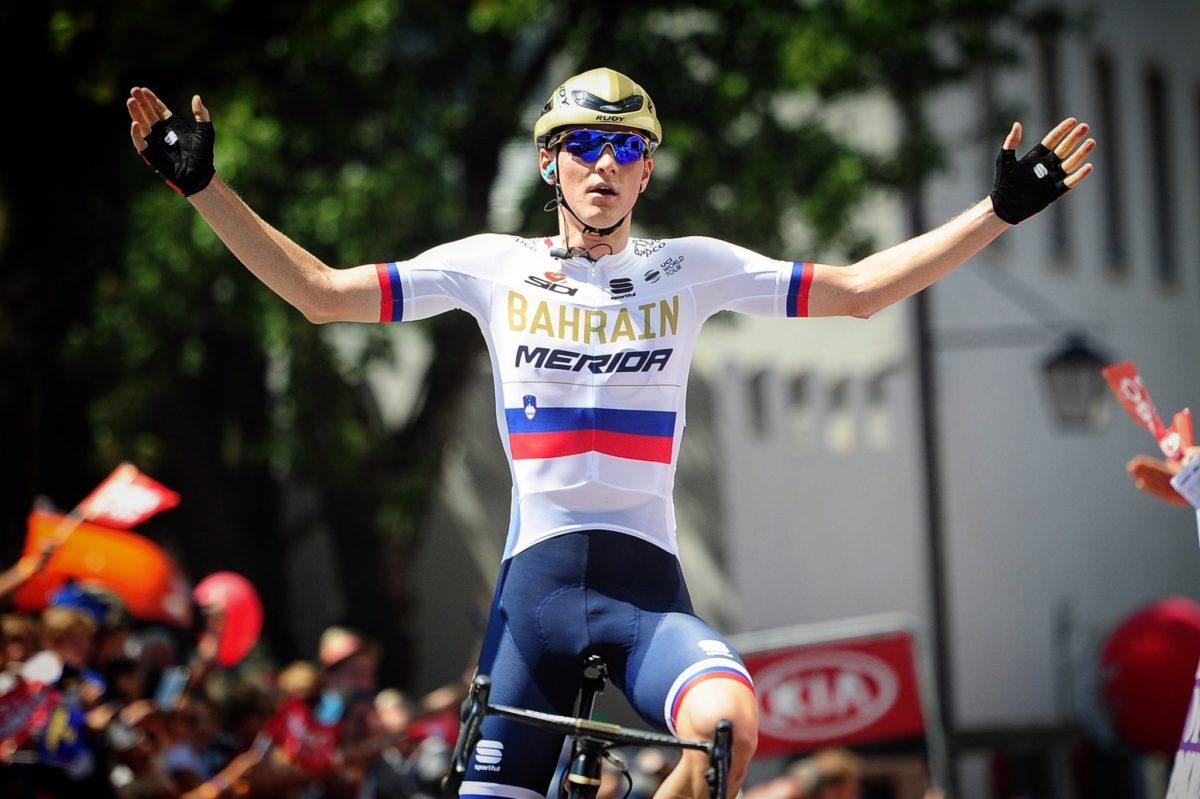 Matej Mohoric vince la prima tappa del Tour of Austria 2018