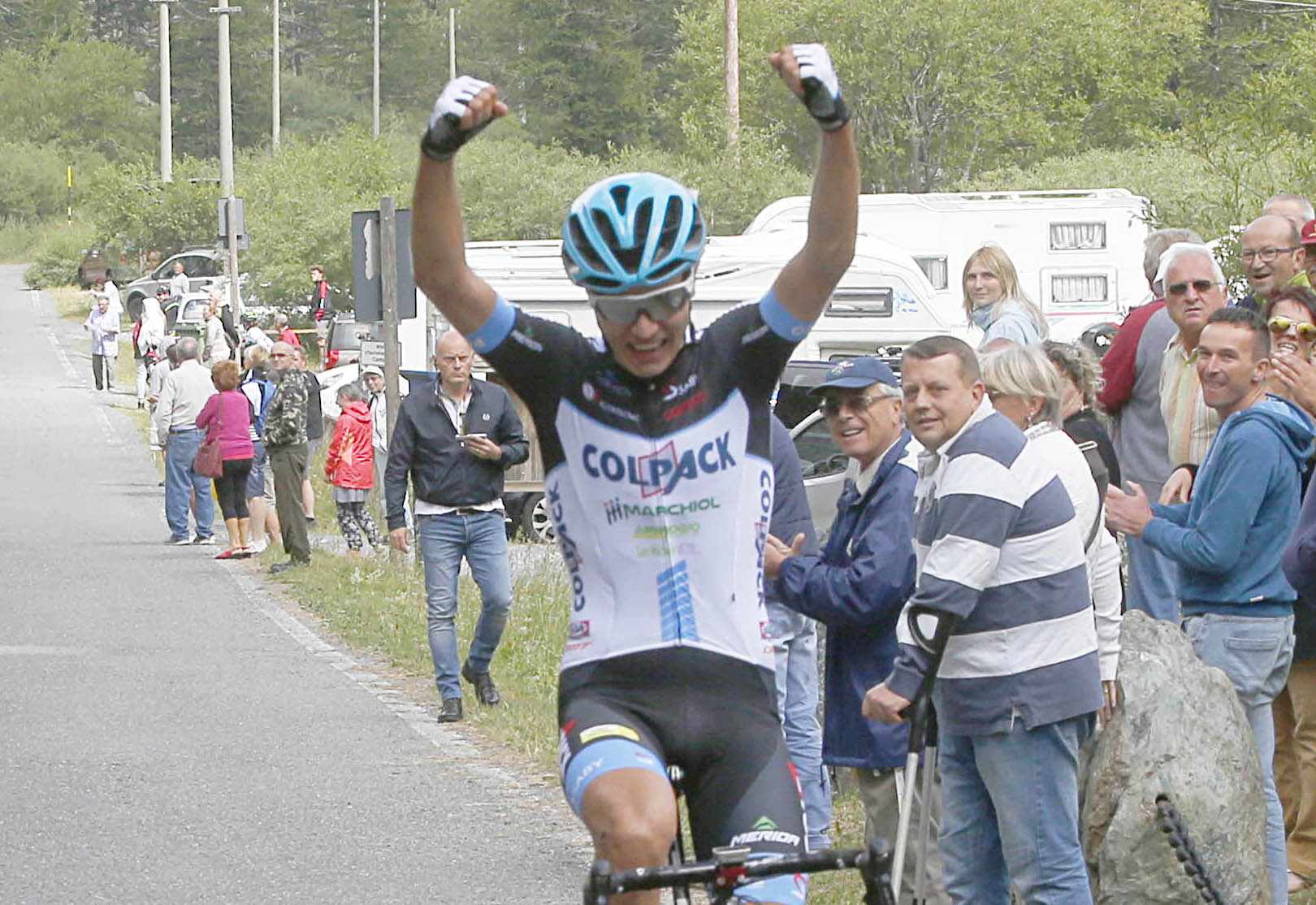 Riccardo Lucca vince la Cirié - Pian della Mussa
