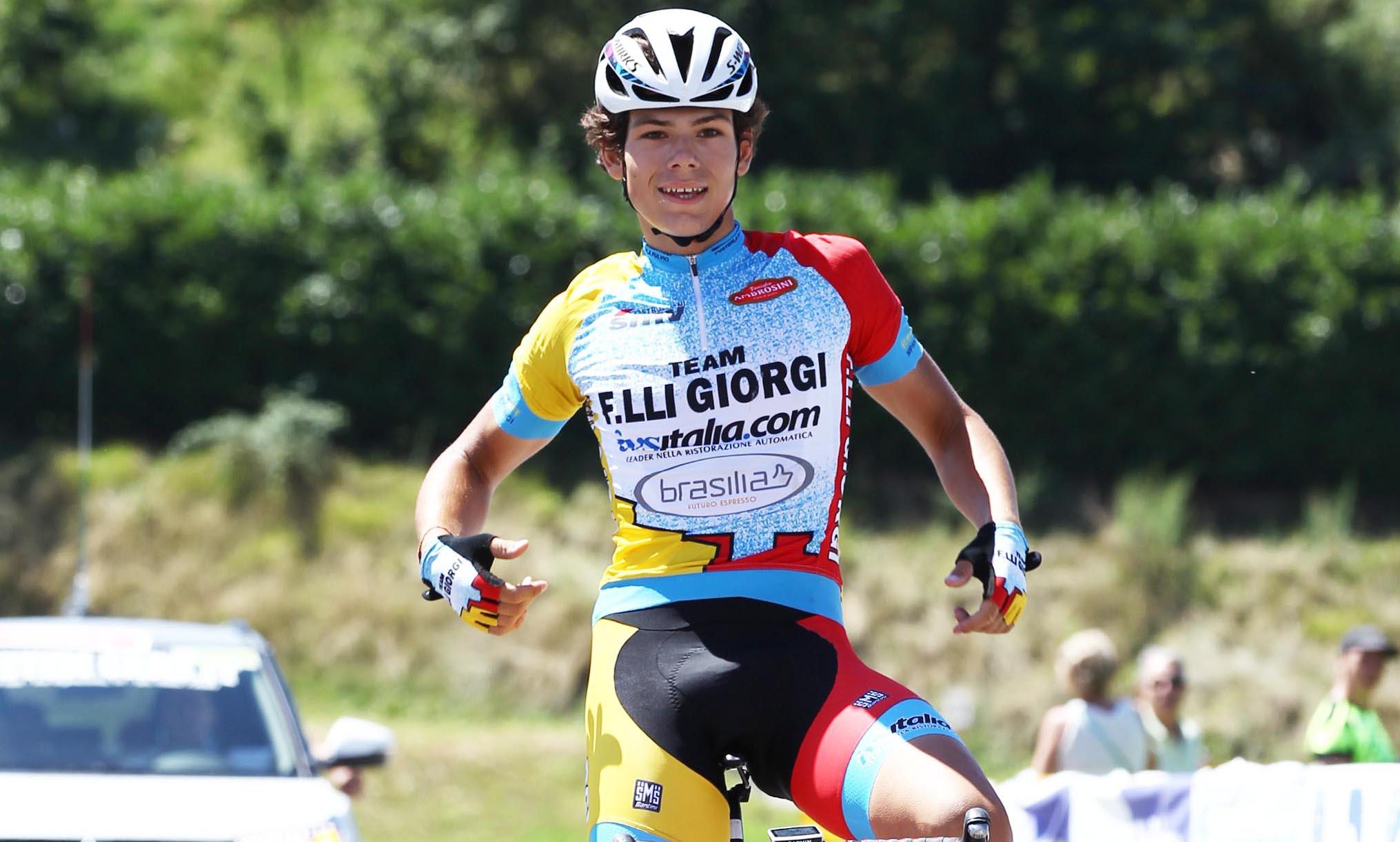 Lorenzo Balestra vince Il Lombardia Giovani Allievi 2018