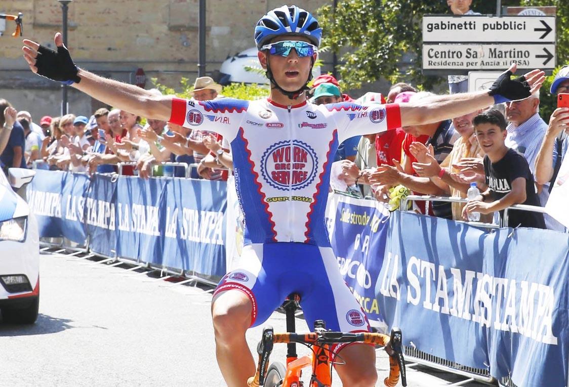 Gabriele Benedetti vince a Montemagno