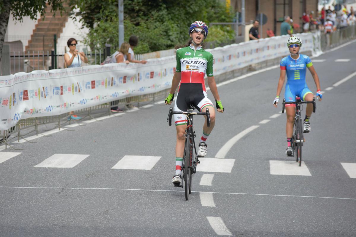Prima vittoria in maglia tricolore per Federica Venturelli a Frabosa Soprana